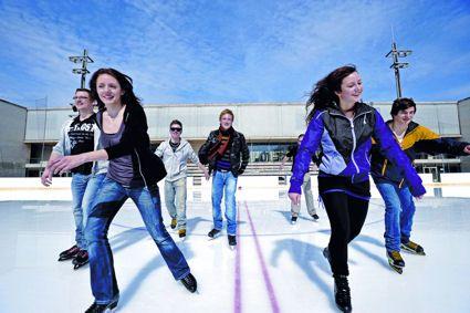 Eisbahn im Prinzregentenstadion München